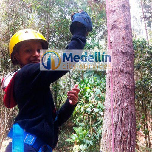 Zip Lines - Medellin city tours