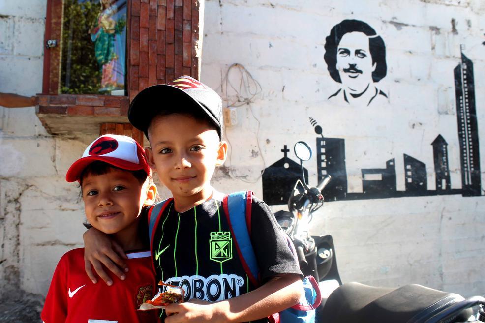 El barrio de Pablo Escobar