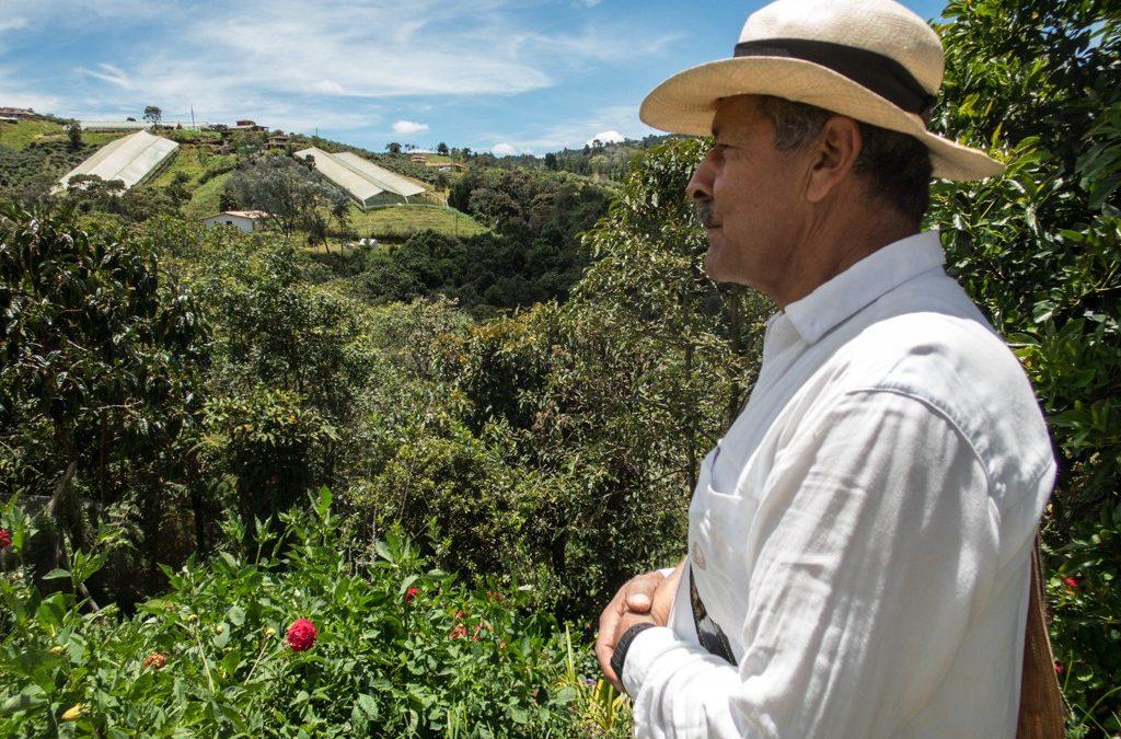 Visiting the Juan Valdez of the Silleteros